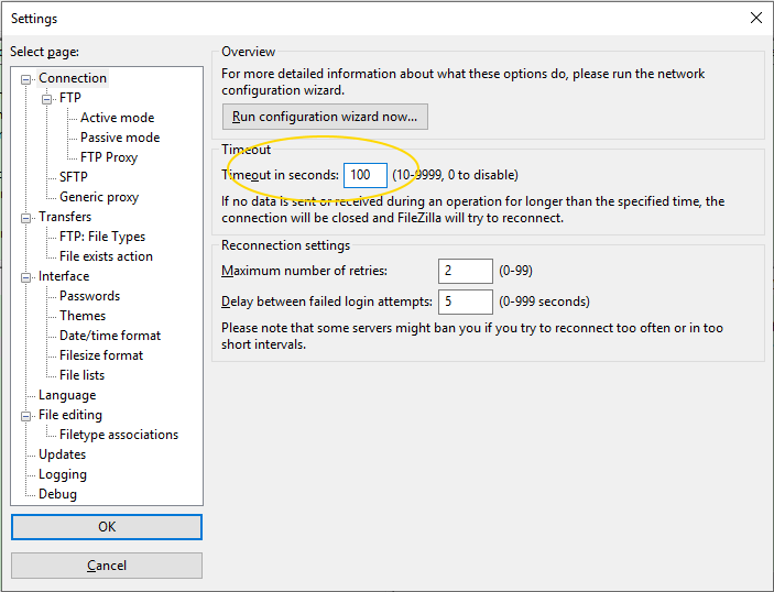 How to Fix FTP Time Out Error